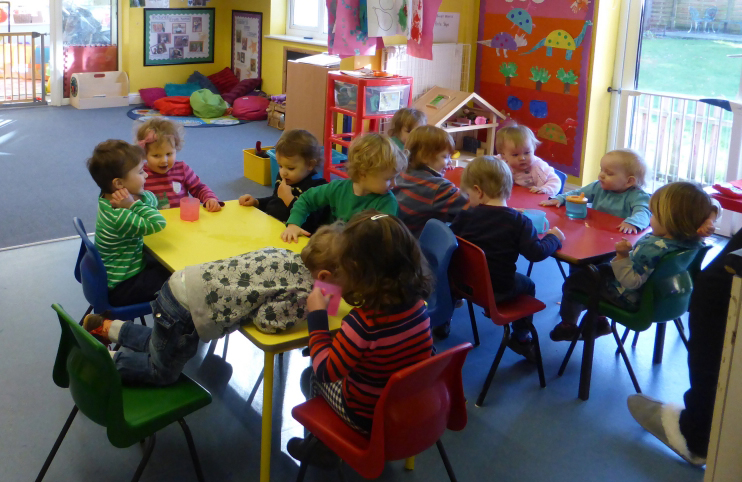 Toddler Room at the Spinney Day Nursery Hoole, Chester