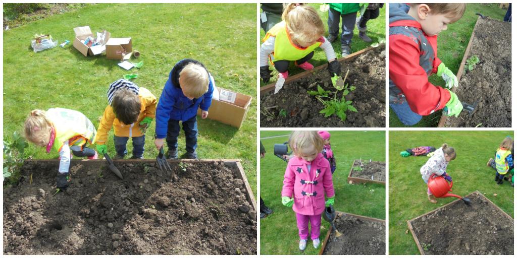 Spinney Hoole Pre School Gardening